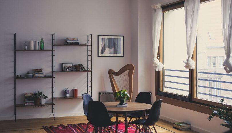 Inred en stor lägenhet